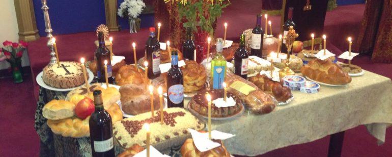 Sâmbăta morţilor sau Moşii de Iarna- ziua de pomenire a morţilor.